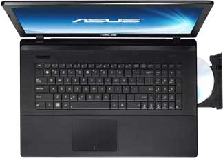 Notebook Asus F75