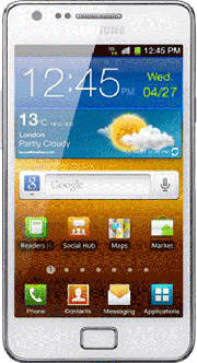 Samsung Galaxy-SII-I9100-weiss