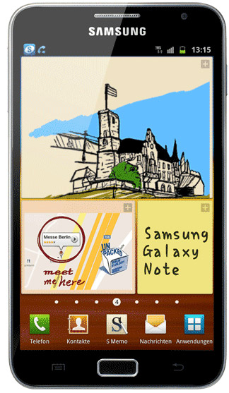 Samsung Galaxy Note N7000 Bild 2