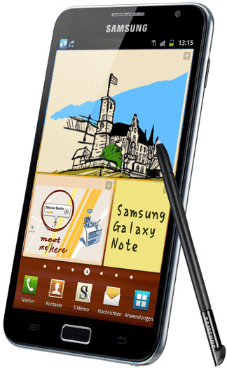 Samsung Galaxy Note N7000 Bild 3