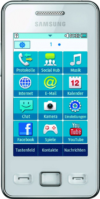 Samsung Star II S5260 Bild 2