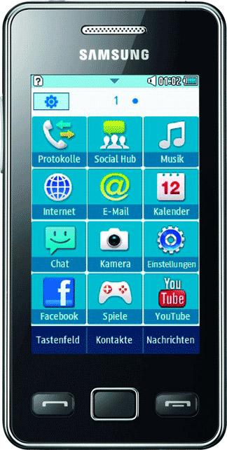 Samsung Star II S5260 Bild 3