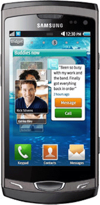 Samsung Wave II S8530 Bild 2