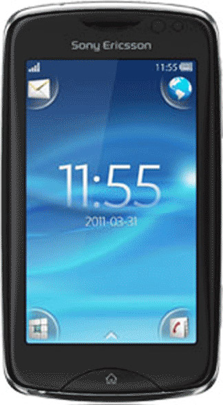 Sony Ericsson txt pro Bild 2