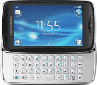 Sony Ericsson txt pro Bild 3