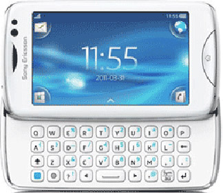 Sony Ericsson txt pro Bild 4