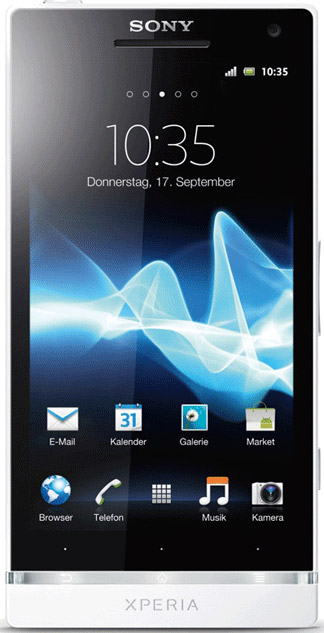 Sony  Xperia S Bild 4