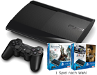 Bundle aus Handy und PS 3 Super Slim 500GB+Spiel
