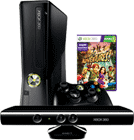 Bundle aus Handy und Xbox 360 slim 4GB Kinetic